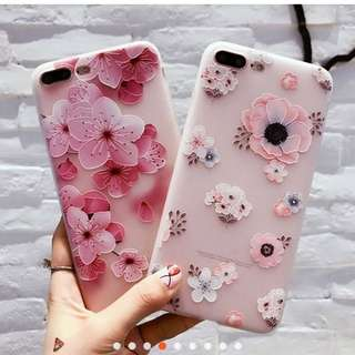 3D Flower Design Phone Case
