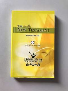 The New Testament (Catholic Edition)