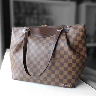 Authentic Louis Vuitton Damier Ebene Westminster LV