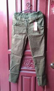 New Military Green Pants