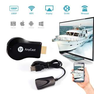 Anycast Dongle Wireless HDMI Streaming Media Player