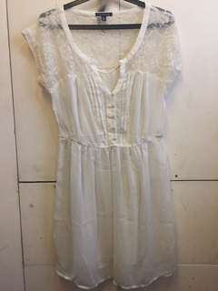American Eagle Outfitters Off-white dress