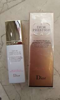 Dior Pretige Light in white UV SPF50