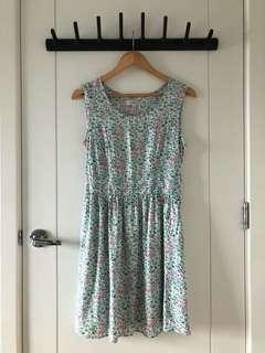 Cache Cache Mint Floral Dress