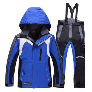Rossignol Ski Jacket and Pants Winter Thermal Cotton-padded Snow suits waterproof