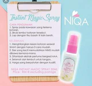 Niqa instant spray 30ml