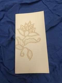 Singapore Airlines greetings card batik
