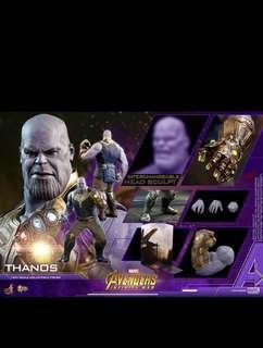 Hottoys Hot toys Thanos Infinity War Avengers 首日19:44訂單