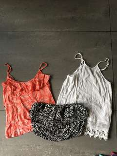 Summer tops (take all for P350)