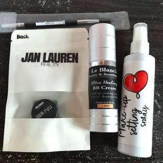 Makeup Bundle (Le blanc, Hello Gorgeous, Jan Lauren)