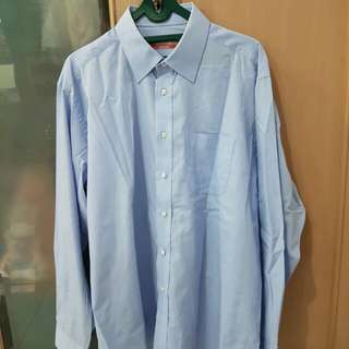 Marks and spencer blue shirt