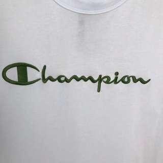 XX060 champion新款亮色刺绣 纯棉面料 情侣款可搭 :S M L XL XXL