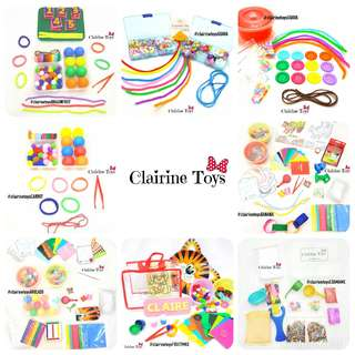 Activity Bag & Activity Box Clairine Toys
