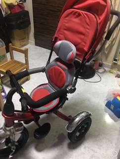Kids tricycle/ pram