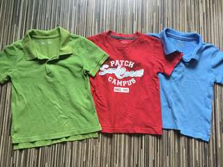 3pcs 3yo boy Quality clothes bundle