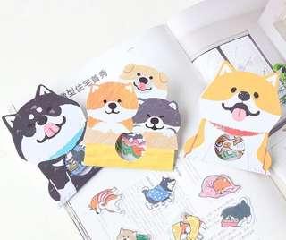 Shiba Inu Shibanban Japanese Loose Sticker Pack