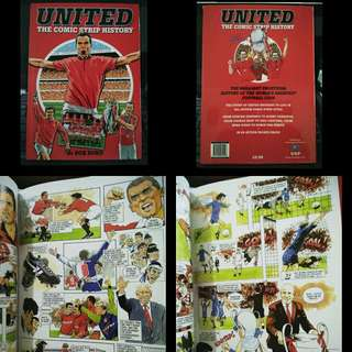 Hardcover MANCHESTER UNITED Comic Manga Marvel jersey