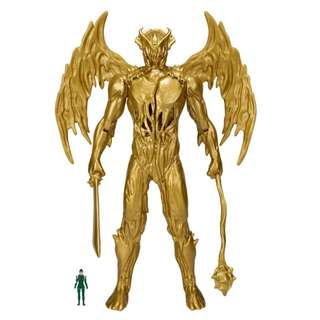 """(FLASH SALE) [CASH ONLY] Bandai America - Power Rangers Movie - MMPR 18"""" Goldar - Collectible Action Figure"""