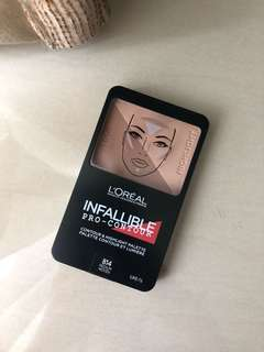 Loreal Infallible Pro Contour shade Medium