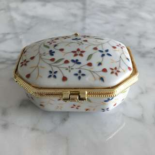 Floral Jewelry Case