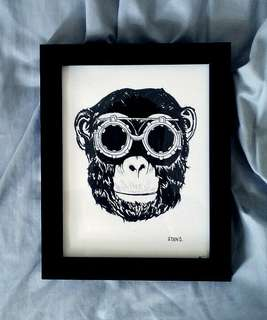 HERMANOS: Goggles (print only)