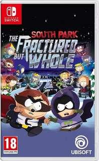 新品 switch 衰仔樂園 south park 可換game