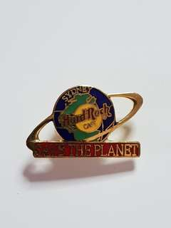 Sydney Hard Rock Cafe Save The Planet Pin, Collectible