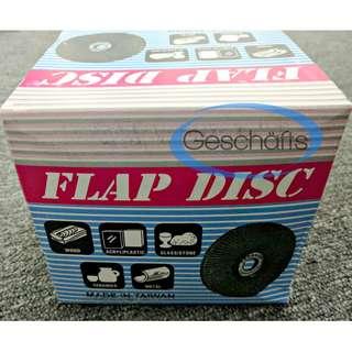 Kanachi Flap Disc Grit 100/120 x 10 Pcs