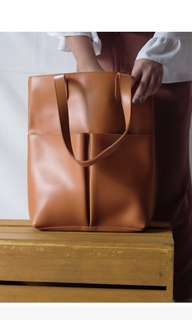 Humi Sandrine Vegan Leather Tote Bag