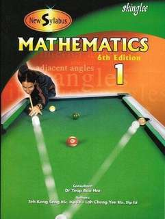 Shinglee Mathematics Textbook 1 (6th Edition)