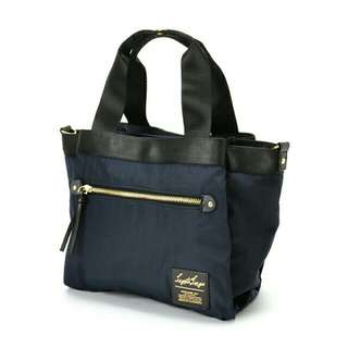 ✳ Navy Authentic Legato Largo Nylon Middle Tote bag - ready stock