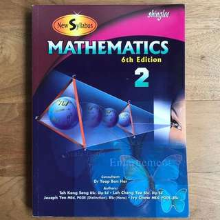 Shinglee Mathematics Textbook 2 (6th Edition)