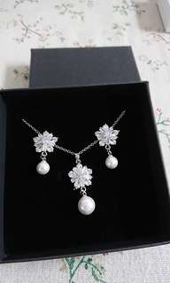 全新結婚首飾套裝 New Wedding jewelry set