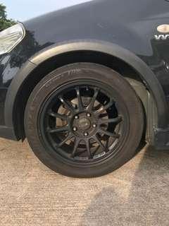 17 inch rims with Bridgestone Potenza