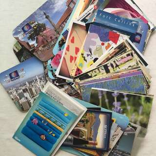Postcards for 50pcs