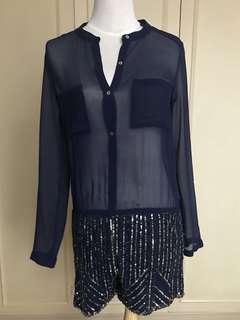 Zara sequin jumpsuit