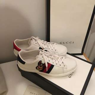 2018 Limited edition authentic Gucci sneakers