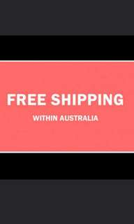 Free Shipping Australia Wide 🎆🎆🎆