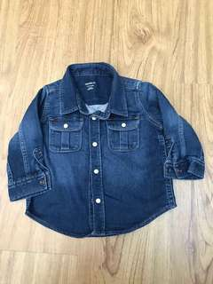 Baby gap denim shirt