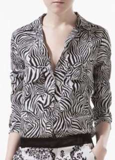 Zara 100%silk blouse