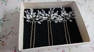 Wedding hair accessories 結婚頭飾