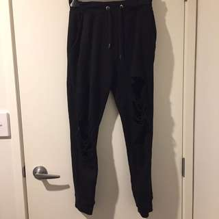 RIPPED JOGGERS / TRACK PANTS