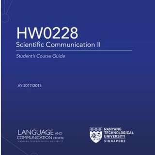 NTU HW0228 Sci Communication 2