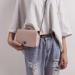 shoulder bag 粉色包包