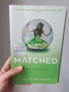 Matched by Ally Condie (Matched Trilogy)