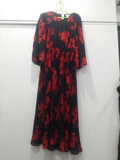 Used H & M Floral Long Dress.