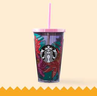 🆕Starbucks® 16oz Fresh Blooms Cold Cup