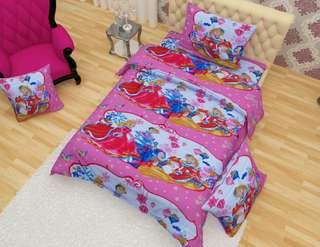 Single kids bedsheet set