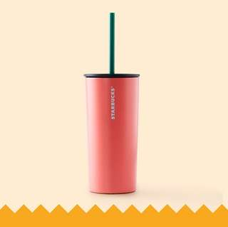 🆕Starbucks® 12oz Stainless Steel Coral Cold Cup
