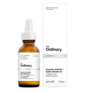 ❄️ The Ordinary ❄️ Ascorbic Acid 8% + Alpha Arbutin 2%